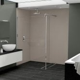 Nuance Finishing Postformed Wall Panel 2420mm H X 160mm W Frost - Glaze