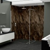 Nuance Finishing Postformed Wall Panel 2420mm H X 160mm W Terracotta Paladina - Glaze
