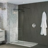Nuance Finishing Postformed Wall Panel 2420mm H X 160mm W Natural Grey Stone - Roche
