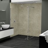 Nuance Finishing Postformed Wall Panel 2420mm H X 160mm W Alhambra - Glaze