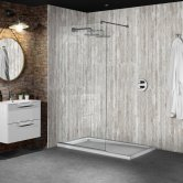 Nuance Finishing Postformed Wall Panel 2420mm H X 160mm W New England - Timber
