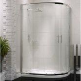 Orbit A6 Double Offset Quadrant Shower Enclosure 900mm x 760mm - 6mm Glass