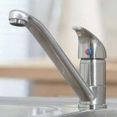 Orbit Arruba Kitchen Sink Mixer Tap - Brushed Nickel