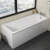 Orbit Solarna Single Ended Rectangular Bath 1700mm x 750mm - Acrylic