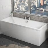 Orbit Solarna Double Ended Rectangular Bath 1700mm x 750mm - Acrylic