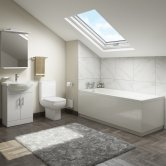 Options Complete Bathroom Suite with 1700mm x 700mm Bath - Single Ended