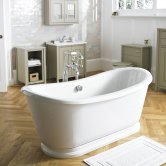 Premier Alice Freestanding Roll Top Slipper Bath 1740mm x 800mm