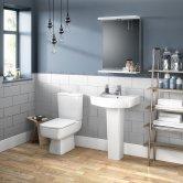 Premier Bliss Bathroom Suite 1 Tap Hole