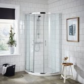 Premier Ella Quadrant Shower Enclosure 800mm x 800mm - 5mm Glass