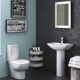 Nuie Knedlington Bathroom Suite 1 Tap Hole