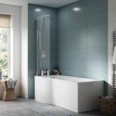 Premier Acrylic Bath End Panel 510mm H x 700mm W - White
