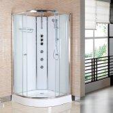 Premier Opus Quadrant Shower Cabin 800mm x 800mm - Polar White