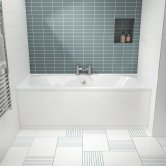 Premier Otley Double Ended Rectangular Bath 1700mm x 700mm - Acrylic
