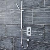 Premier Pioneer Concealed Shower Mixer with Slider Rail Kit - Chrome