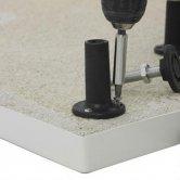 Premier Leg Set and Plinth Kit 1700mm and 1000mm Plinths - White