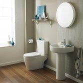 Premier Provost Bathroom Suite 1 Tap Hole Basin