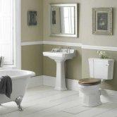 Premier Richmond Traditional Bathroom Suite 595mm Wide - 2 Tap Hole