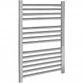 Premier Straight Ladder Towel Rail 700mm H x 500mm W - Chrome