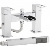 Prestige Aruba Bath Shower Mixer Tap Pillar Mounted - Chrome