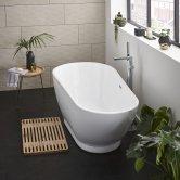 Prestige Esposito 2 Modern Freestanding Bath 1700mm x 810mm - Acrylic