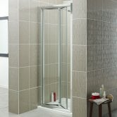Prestige Estuary Bi-Fold Shower Door 700mm Wide - 4mm Glass