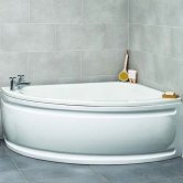 Prestige Formula Offset Corner Bath 1500mm x 1040mm Right Hand