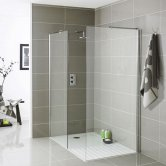 Prestige Koncept Wetroom Tray 1600mm x 800mm - White