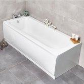 Prestige New Life Single Ended Rectangular Bath 1700mm x 700mm - Fiberglass