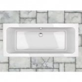 Prestige Options Rectangular - Acrylic Bath 1700mm x 700mm Double Ended