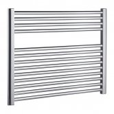 Radox Premier Straight Horizontal Heated Towel Rail 600mm H x 600mm W - Chrome