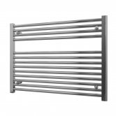 Radox Premier Horizontal Heated Towel Rail 600mm H x 800mm W Chrome