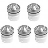 RAK Replacement Valve For Waterless Urinal Waste & Trap (Pack of 5)