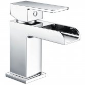 RAK Art Waterfall Flat Mono Basin Mixer Tap - Chrome