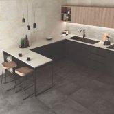 RAK Chiltern Ceramic Wall Tiles 300mm x 600mm - Matt Greige (Box of 8)