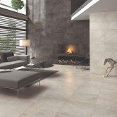 RAK Chiltern Ceramic Wall Tiles 300mm x 600mm - Matt Grey (Box of 8)