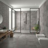 RAK Chiltern Ceramic Wall Tiles 300mm x 600mm - Matt Anthracite (Box of 8)