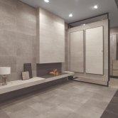 RAK Cumbria Ceramic Wall Tiles 300mm x 600mm - Matt Groove Decor Ash (Box of 8)