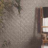 RAK Cumbria Ceramic Wall Tiles 300mm x 600mm - Matt Cubic Decor Ivory (Box of 8)