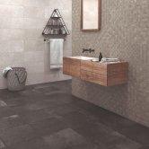 RAK Cumbria Ceramic Wall Tiles 300mm x 600mm - Matt Oyster (Box of 8)