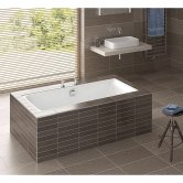 RAK Evolution Double Ended Rectangular Bath 1750mm x 750mm - Acrylic