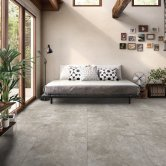 RAK Fusion Stone Lapatto Tiles - 600mm x 600mm - Greige (Box of 4)