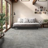 RAK Fusion Stone Lapatto Tiles - 50mm x 600mm - Grey (Box of 36)