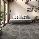 RAK Fusion Stone Lapatto Tiles - 600mm x 600mm - Dark Grey (Box of 4)