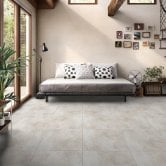 RAK Fusion Stone Lapatto Tiles - 600mm x 600mm - Light Grey (Box of 4)