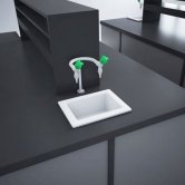 RAK Laboratory 1 Ceramic Belfast Kitchen Sink 1.0 Bowl 360mm L x 280mm W - White