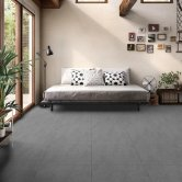 RAK Lounge Polished Tiles - 600mm x 600mm - Anthracite (Box of 4)