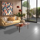 RAK Lounge Unpolished Tiles - 600mm x 600mm - Anthracite (Box of 4)