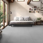 RAK Lounge Unpolished Tiles - 600mm x 600mm - Grey (Box of 4)