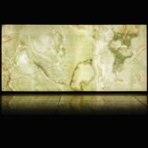 RAK Luce Full Lappato 6mm Translucent Tiles - 1200mm x 2600mm - Onyx Green Jade (Box of 1)