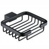 RAK Moon Modern Soap Basket Wall Mounted - Black